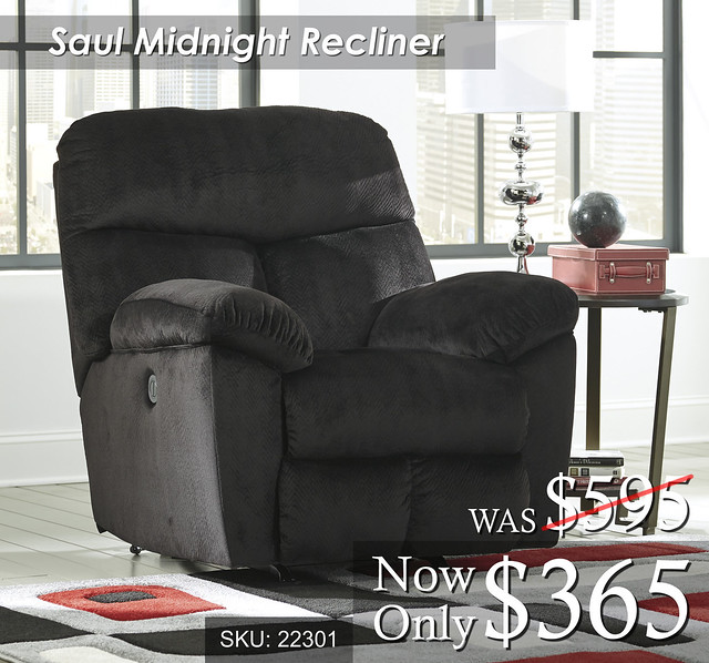 Saul Midnight Recliner