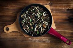 Mushroom Risotto: Sauteed Mushrooms