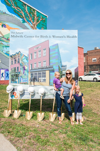 The Midwife Center's Groundbreaking