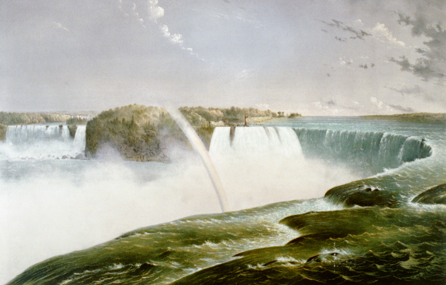 The Falls of Niagara-From the Canada side, 1868
