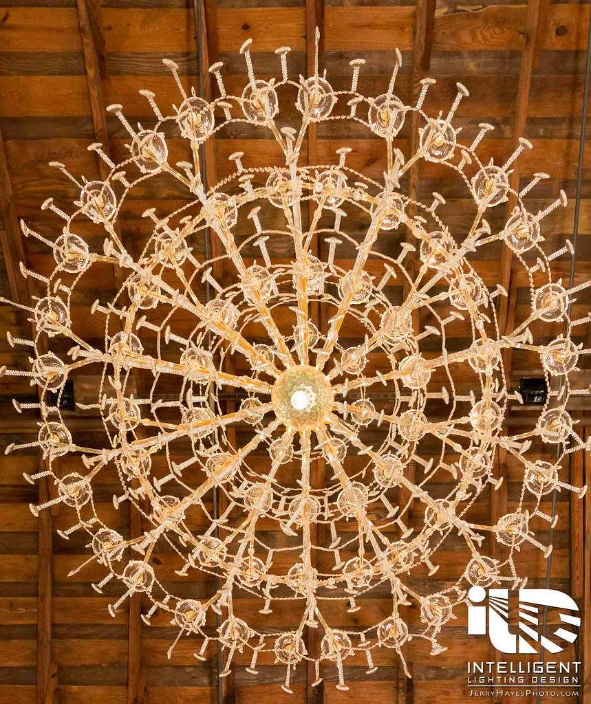 Chandelier rentals by intelligent lighting design intelligent jerry hayes photography arubaitofo Choice Image