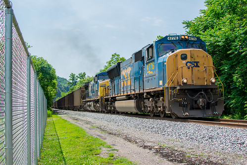CSX T700-19 Webster, PA.