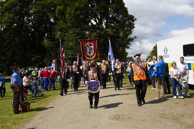Paisley Ferguslie Gardens Flute Bands Parade (56)