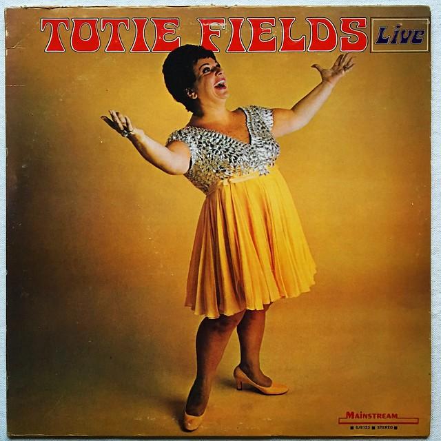 Totie Fields - 1960s Vintage Vinyl LP Record