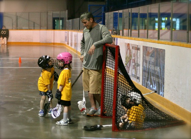 1st Lacrosse Practice - May 6, 2013, Sarnia, ON