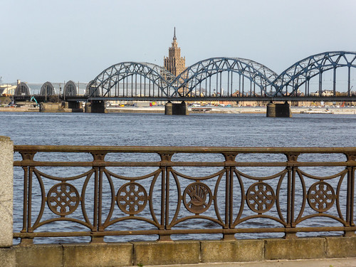 Famous bridges of Riga, Latvia