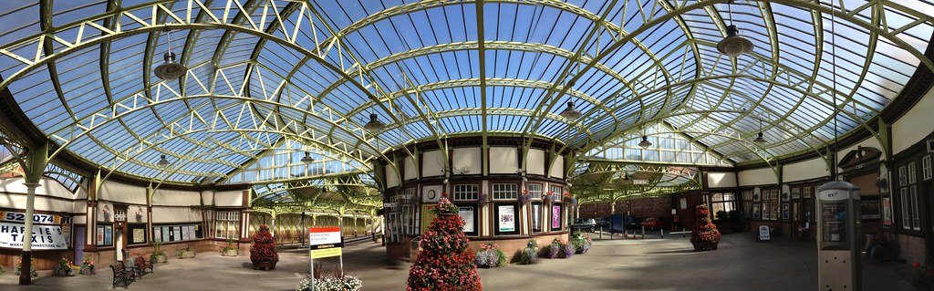 Wemyss Bay Railway Station Panorama