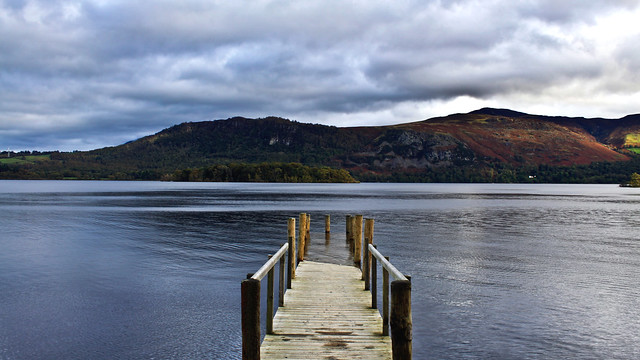 0350 - England, Lake District, Derwent Water HDR