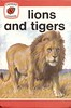 LIONS AND TIGERS a Vintage Ladybird Book from the Leaders Series 737