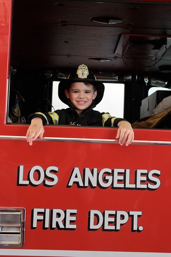 Even Moms & Kids are Firefighters for a Day