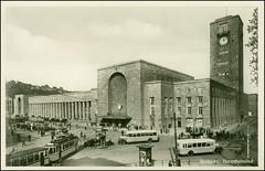1873 R a Stuttgart 23.III.1932. Der Stuttgarter Hauptbahnhof ist der größte Regional- und Fernbahnhof in der Landeshauptstadt Stuttgart, Hauptknoten des Stuttgarter S-Bahn-Verkehrs und neben der Haltestelle Charlottenplatz wichtigster Knotenpunkt der St