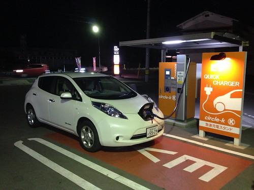 サークルK松山インター店 EV急速充電器