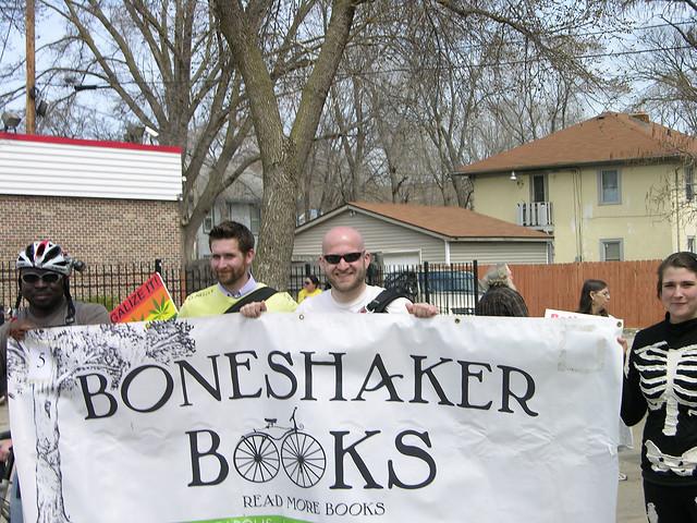 MayDay 2013 free speech boneshaker books