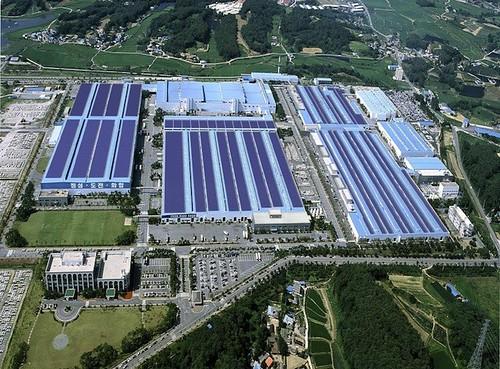 Hyundai создает крупнейший массив солнечных панелей в Южной Корее