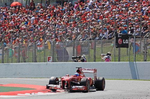 Alonso Circuit Catalunya