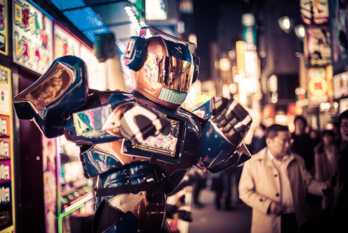 Robots in the Streets of Tokyo!
