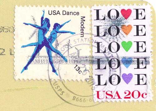 USA Vintage Postage Stamps