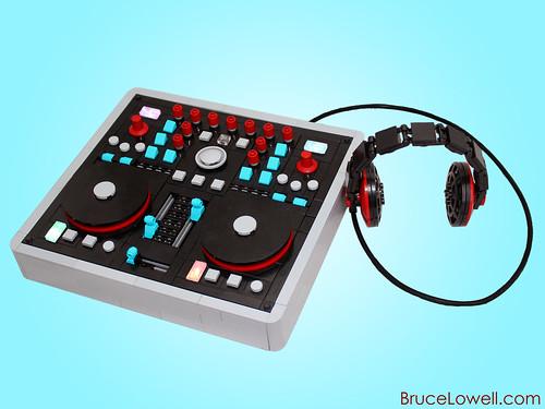 LEGO DJ Mixer