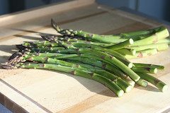 scallion(0.0), leek(0.0), vegetable(1.0), asparagus(1.0), produce(1.0), food(1.0),