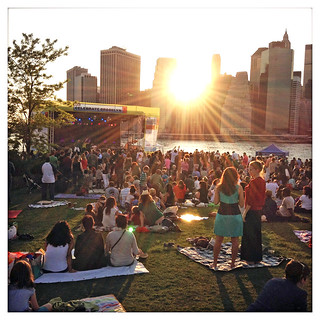 brooklyn bridge park BRIC concert