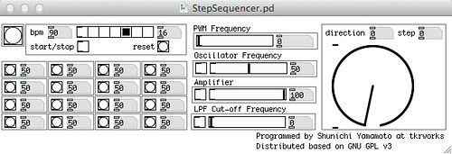 Step Sequencer (Pd ver.)