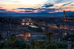 Last lights on Florence