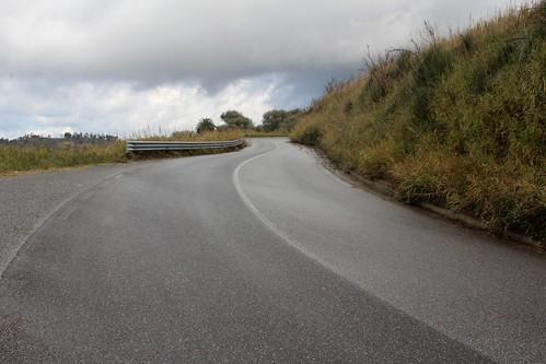 Road from Monterosso Calabra, Vibo Valentia, Calabria, Italy