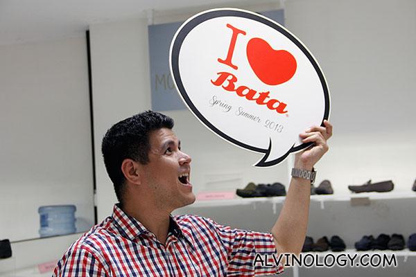 I love bata