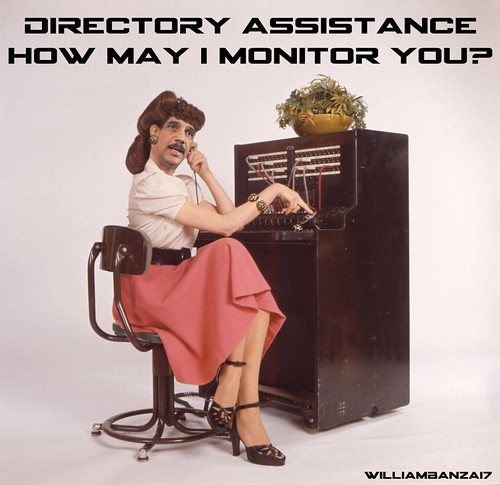 DIRECTORY ASSISTANCE by WilliamBanzai7/Colonel Flick