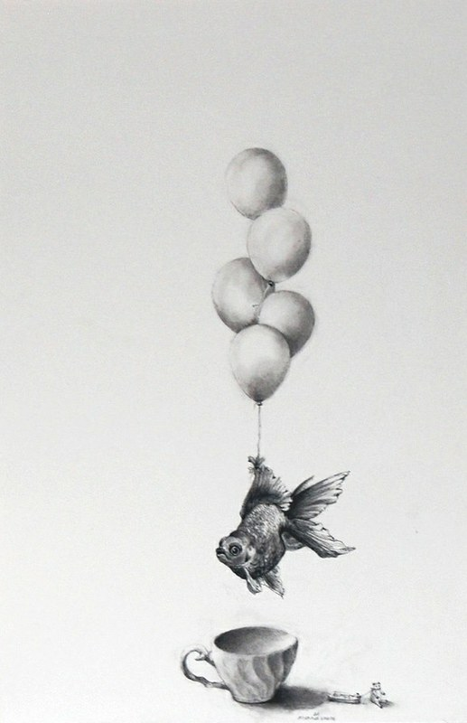 Adonna Khare, Goldfish and Balloons, 2013