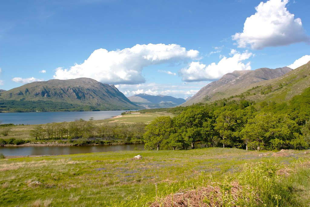 Loch Etive from the Kinglass