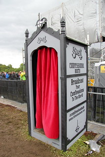 Ghost Confessional Booth