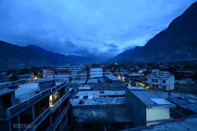 Gilgit after sundown
