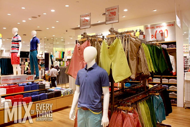 UNIQLO Glorietta 5 Pre-Shopping Event