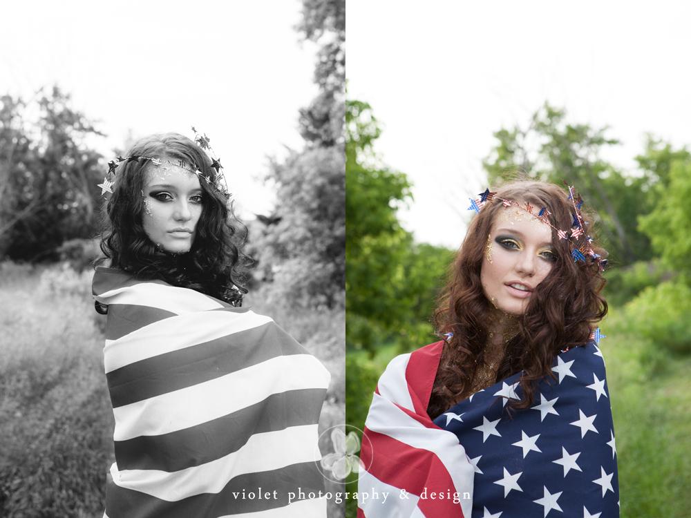 Stylized Americana Photo session