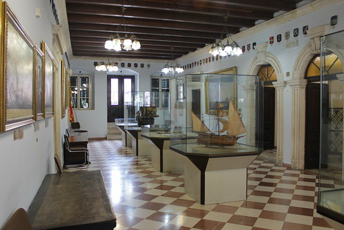 Inside the Maritime Museum