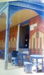 Maroc, juillet 1964, le Café Maure - Rabat
