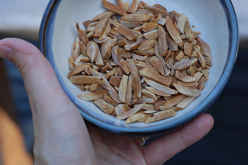 Toasted almonds by Eve Fox, the Garden of Eating blog, copyright 2013