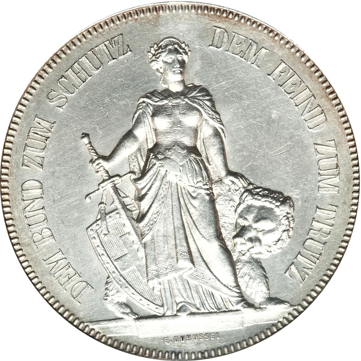 5 francos 1885. Berna, Suiza 9266150647_a200818436_o