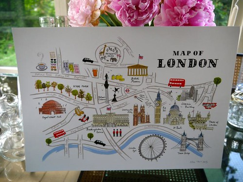 Alice Tait map of London