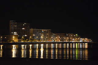 L'Escala by night