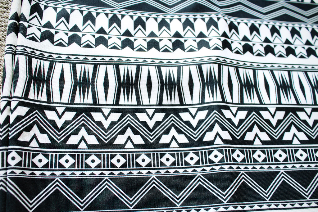 Tribal, aztec print skirt, cheap skirt, stradivarius skirt, sale