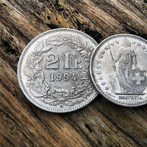 Matawang Swiss-Franc (CHF) Switzerland #throwback #switzerland