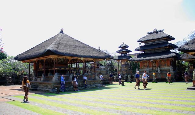 Templo hindú en Ubud