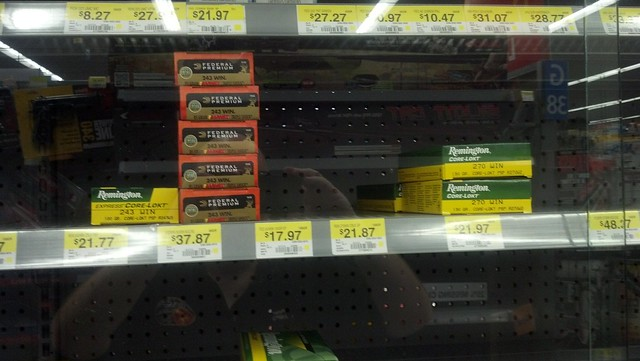 Ammo available at Walmart | Flickr - Photo Sharing!