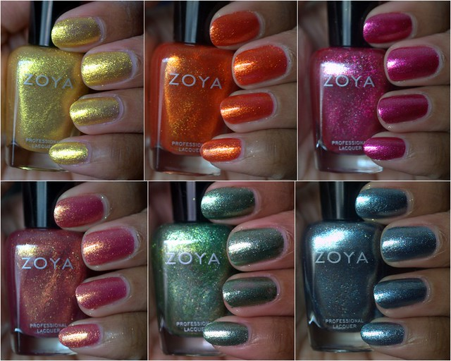 The Gorgeous Zoya Irresistible nail polish collection