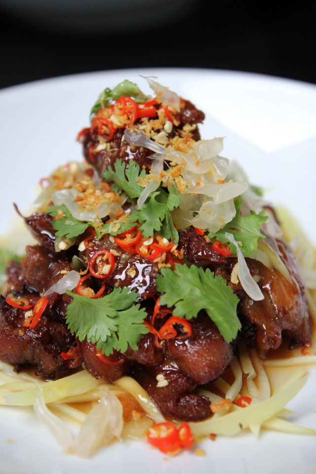 Paste bangkok a mouthwatering meal of modern thai food video the ultimate pork leg forumfinder Image collections
