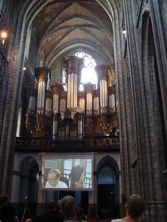 Billede af Collégiale Sainte-Waudru. church organ igreja église kerk orgue órgão