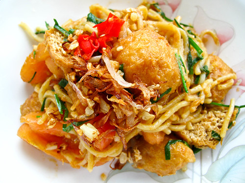 IMG_1300 Indian Style fried noodle, 印度炒面
