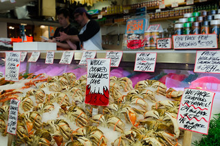 Pike Place Crab Vendor